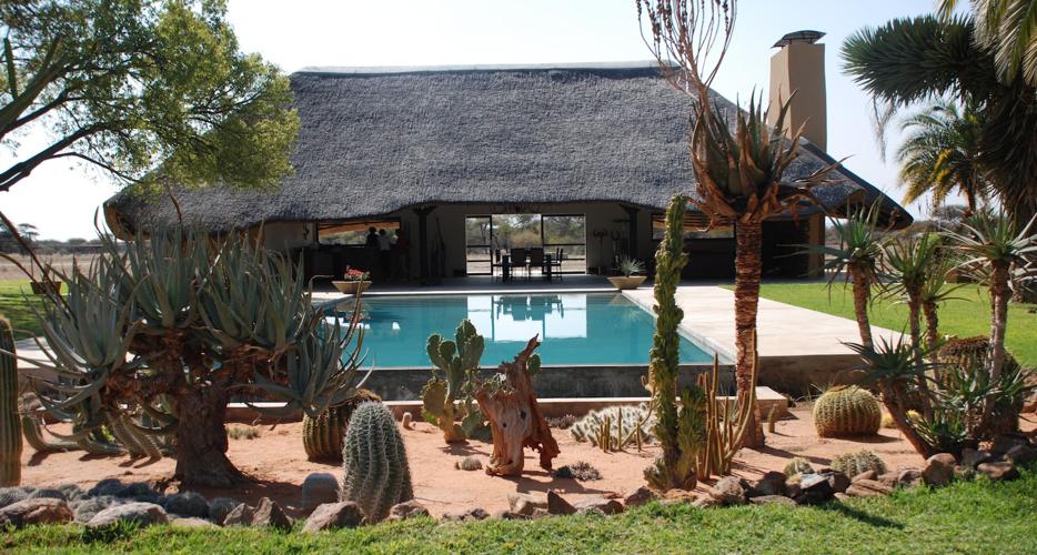 Hunting Lodge Namibia Africa