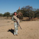 Bird hunting in Africa, Namibia