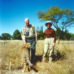 Raised from a cub, Baloo our resident pet Cheetah who is no longer with us.