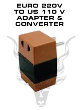 European 220V to American 110V Adapter and Converter